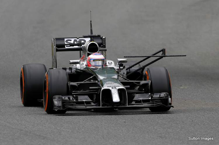 Formula One Testing, Day One, Barcelona, Spain, Tuesday 13 May 2014.