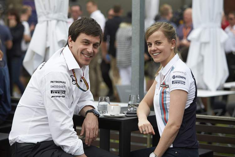 Baby on the way for Toto and Susie Wolff | GRAND PRIX 247