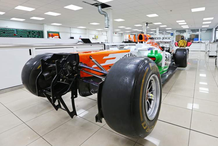 Motor Racing - Formula One World Championship - Sahara Force India F1 Team Headquarters - Silverstone, England