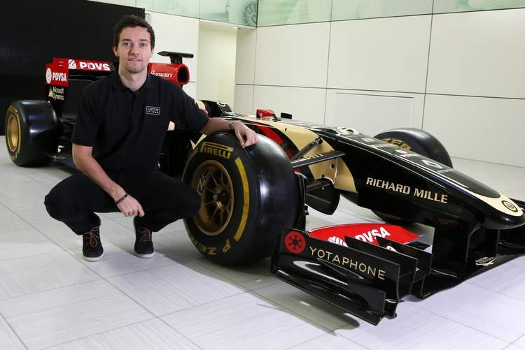 Jolyon Palmer Lotus
