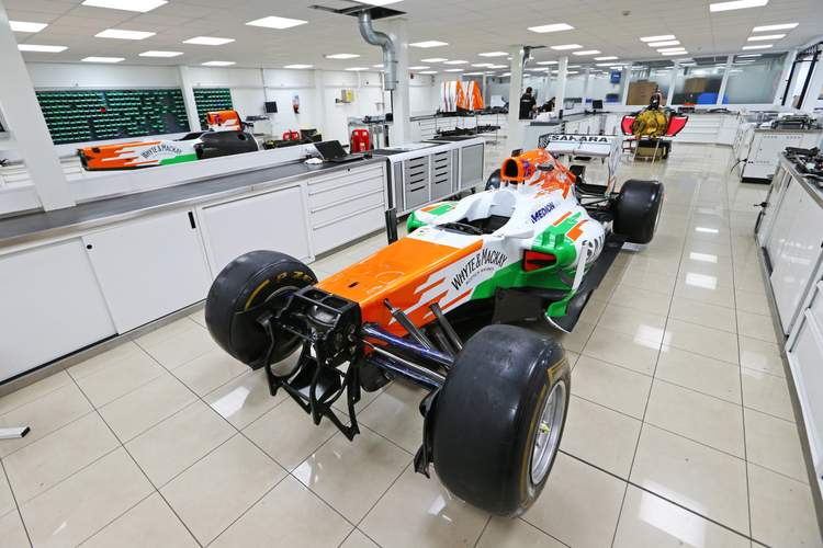 Motor Racing - Formula One World Championship - Sahara Force India F1 Team Headquarters - Silverstone, England