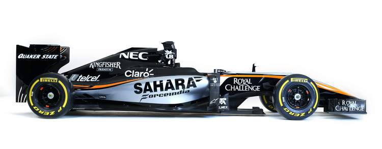 Motor Racing - Sahara Force India F1 Team Livery Launch -  Mexico City, Mexico