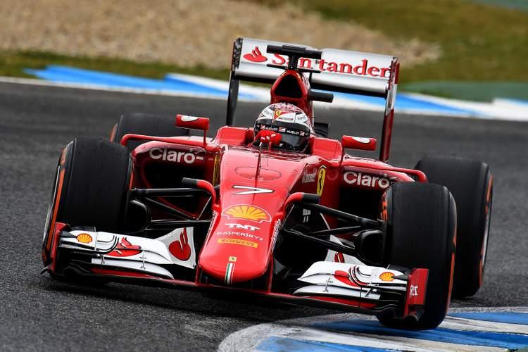 Kimi Raikkonen Ferrari Jerez