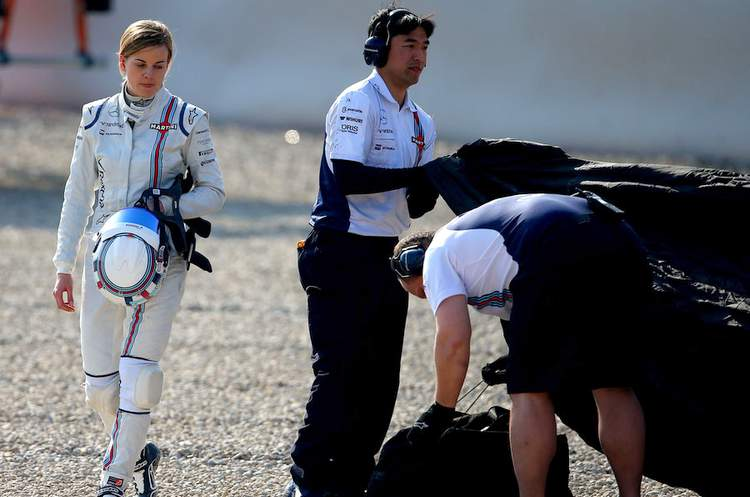 Susie Wolff Williams Barcelona