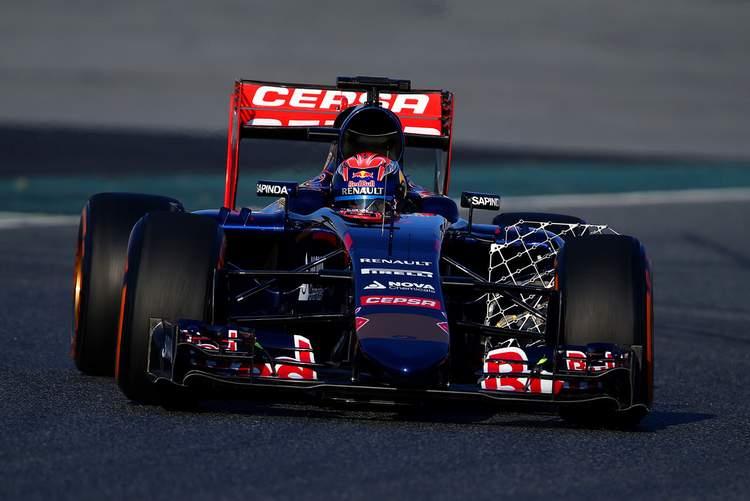Verstappen Barcelona Toro Rosso