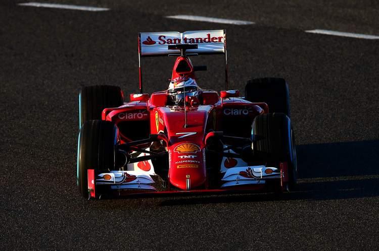Kimi Raikkonen Jerez Ferrari