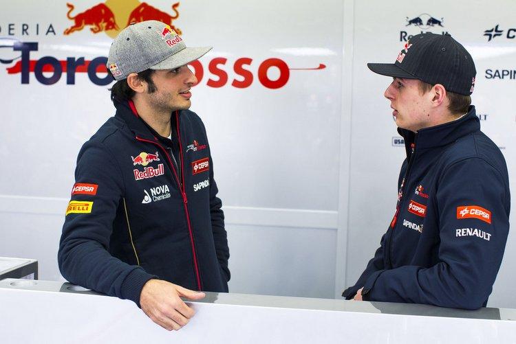 Carlos Sainz Max Verstappen