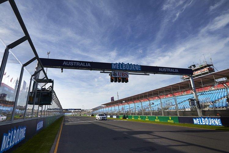Melbourne Australian GP grid
