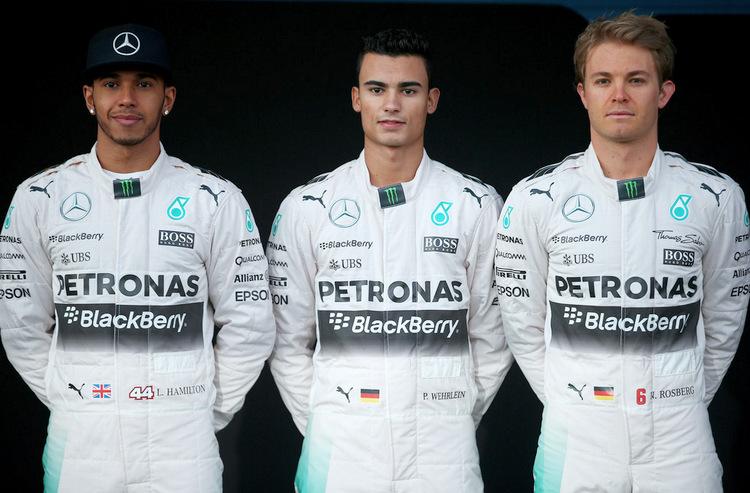 Pascal Wehrlein Rosberg Hamilton