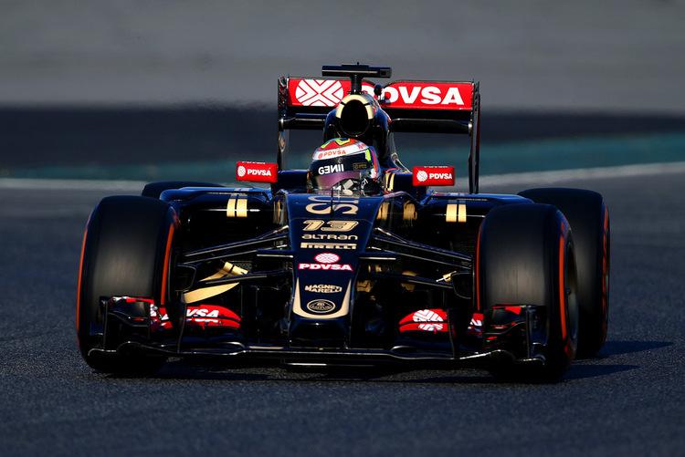 Pastor Maldonado Lotus Bareclona Mercedes