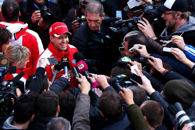 Sebastian Vettel Ferrari Jerez