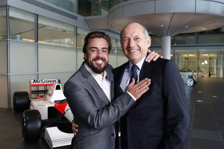 Alonso Dennis McLaren Honda