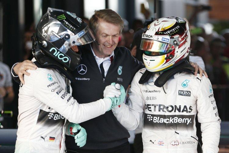 Rosberg+Hamilton+Mercedes