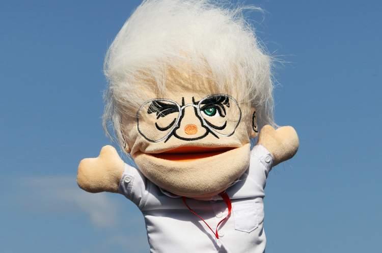 Bernie Ecclestone doll