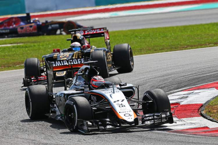 Nico Hulkenberg (GER) Sahara Force India