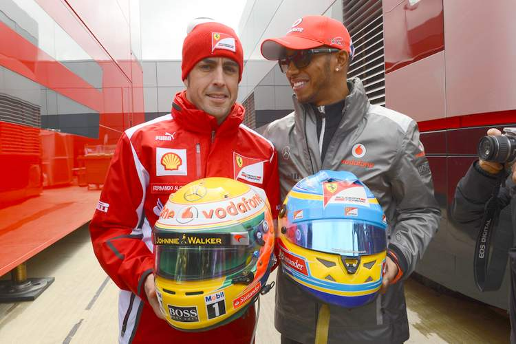 Ferrari Fernando Alonso Lewis Hamilton