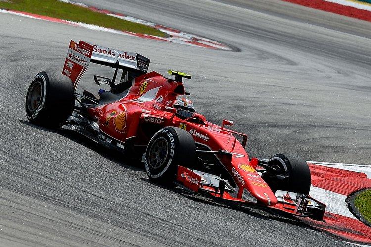 Raikkonen Ferrari Sepang