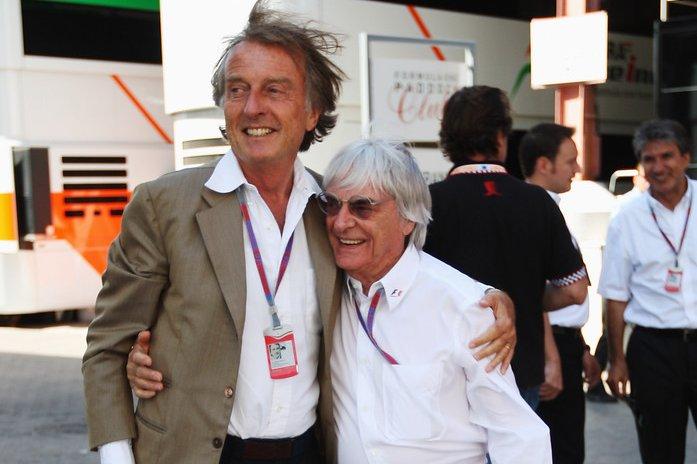 Bernie+Ecclestone+Luca+Cordero+Di+Montezemolo