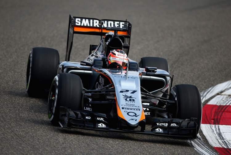 F1+Grand+Prix+China+Practice+Hulkenberg