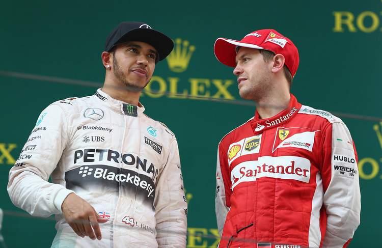 Lewis+Hamilton+Sebastian+Vettel