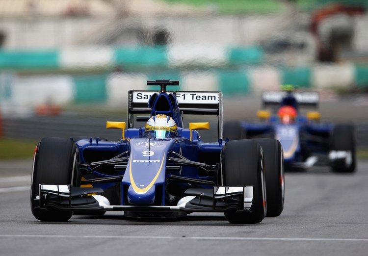 Nasr+Ericsson+F1