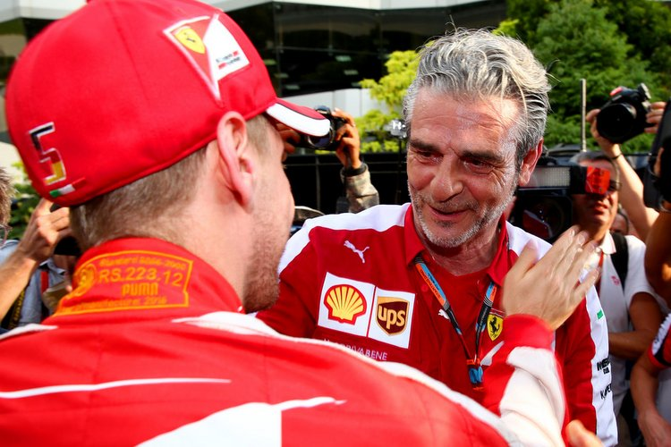 Arrivabene moved by Vettel and Schumacher similarities | GRAND PRIX 247