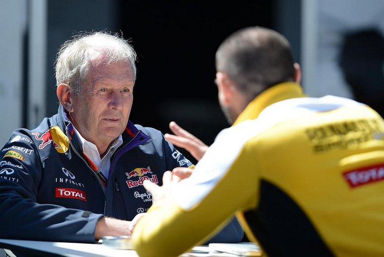 Marko Abiteboul Red Bull Renault