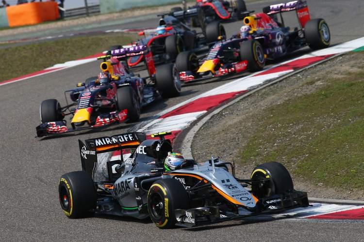 Sergio Perez (MEX) Sahara Force India F1