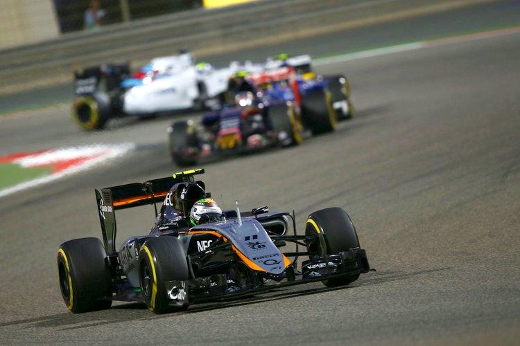 Sergio Perez (MEX) Sahara Force India F1 VJM08
