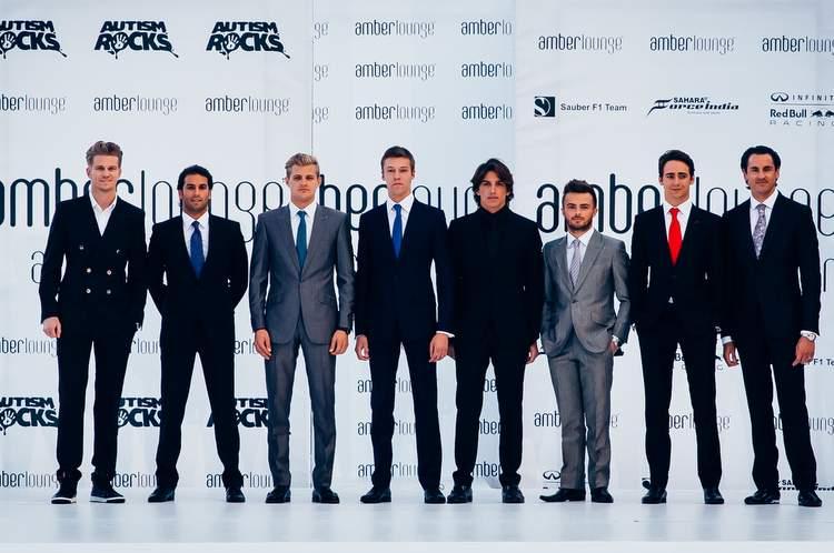 F1 drivers AMBER LOUNGE 2015