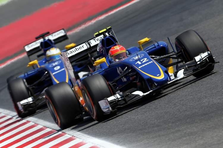Felipe Nasr (BRA), Sauber F1 Team. Circuit de Barcelona-Catalunya.