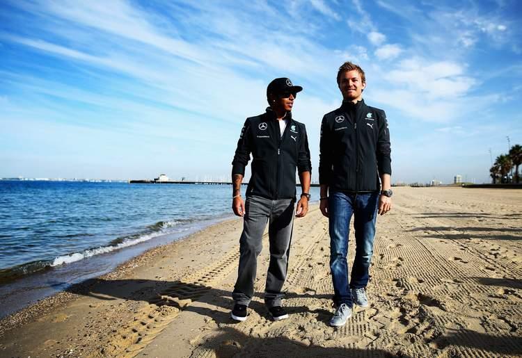 Nico+Rosberg+Lewis+Hamilton