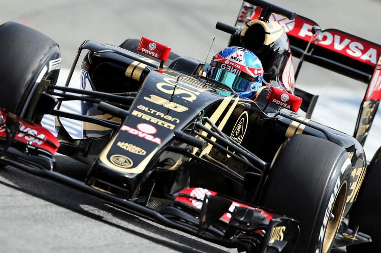Jolyon Palmer (GBR) Lotus F1 E23 Test and Reserve Driver.Formula One Testing, Wednesday 13th May 2015. Barcelona, Spain.