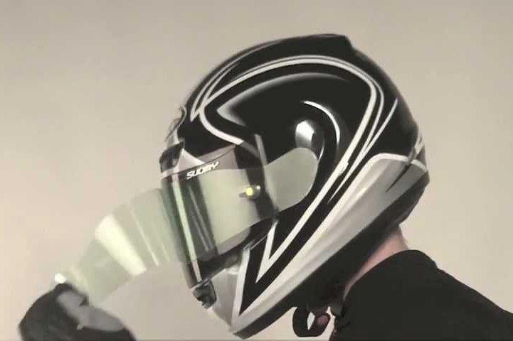 helmet tear off