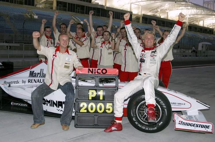 Rosberg Art Grand Prix GP2