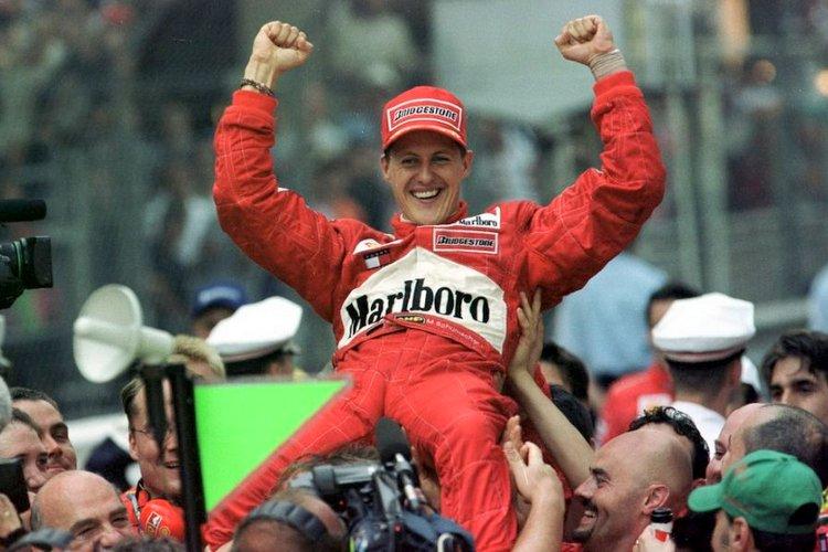 schumacher monaco 2001 Ferrari winner