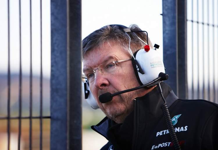 Mercedes GP Ross Brawn