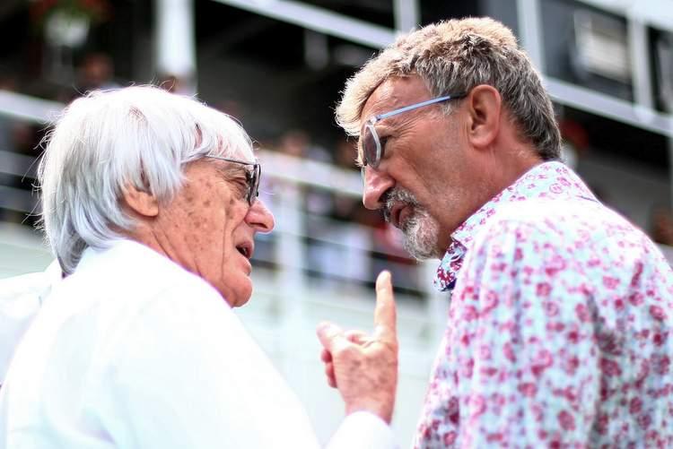 Bernie+Ecclestone+Eddie+Jordan+Spanish+F1