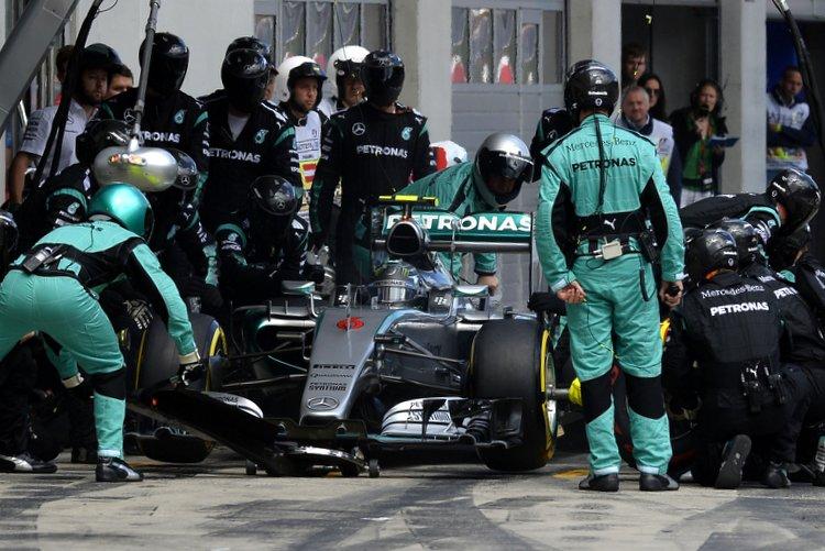 Nico Rosberg Austria pitstop