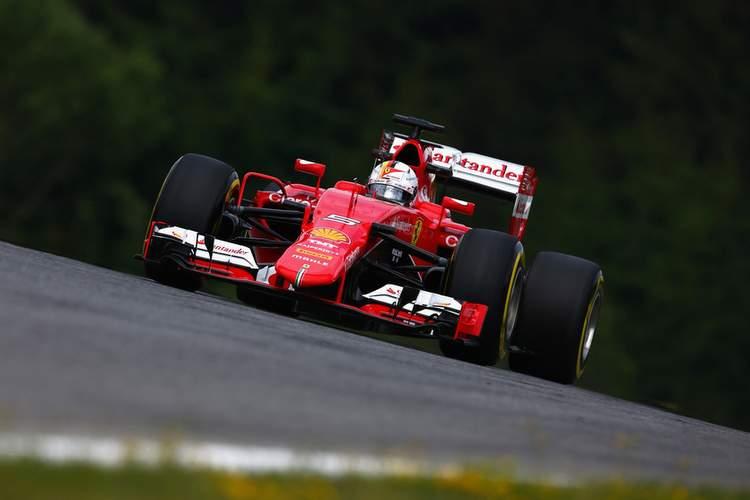 F1+Grand+Prix+Austria+Practice+Vettel