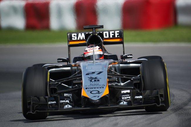 Nico Hulkenberg (GER) Sahara Force India F1 VJM08.Canadian Grand Prix, Sunday 7th June 2015. Montreal, Canada.