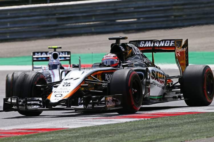 Nico Hulkenberg (GER) Sahara Force India F1 VJM08.Austrian Grand Prix, Sunday 21st June 2015. Spielberg, Austria.