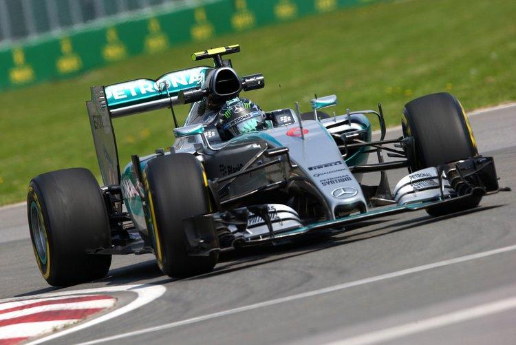 Nico+Rosberg+Canadian+F1+Grand+Prix+Practice