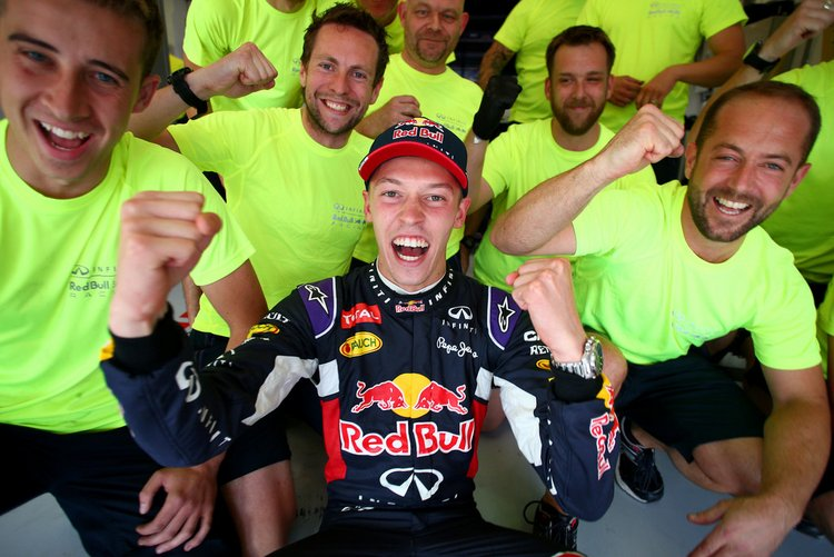 F1+Grand+Prix+of+Hungary+Kvyat