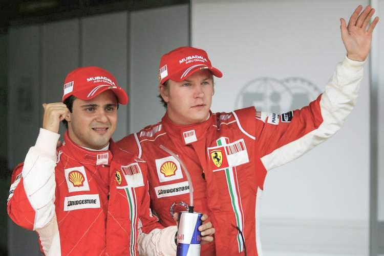Kimi+Raikkonen+Felipe+Massa