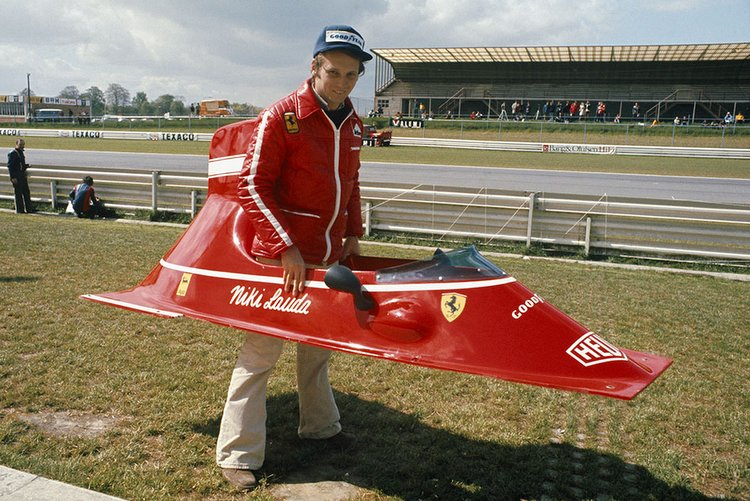 Niki Lauda ferrari