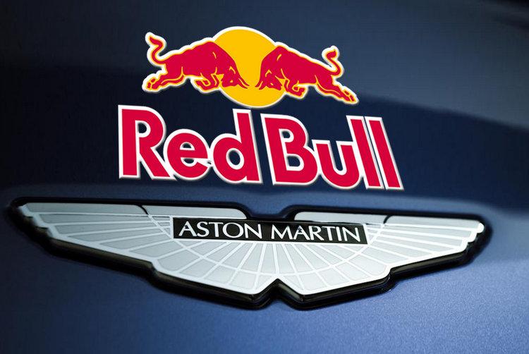 Red Bull Aston Martin badge logo