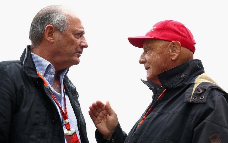 Ron+Dennis+Niki+Lauda