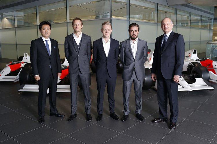 Ron+Dennis+McLarenArai+Alonso+Button+Magnussen