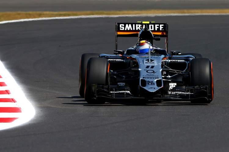 Sergio+Perez+F1+Grand+Prix+Great+Britain+Practice